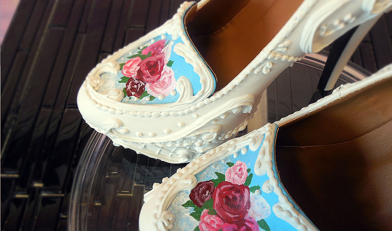 shoes cake(11)