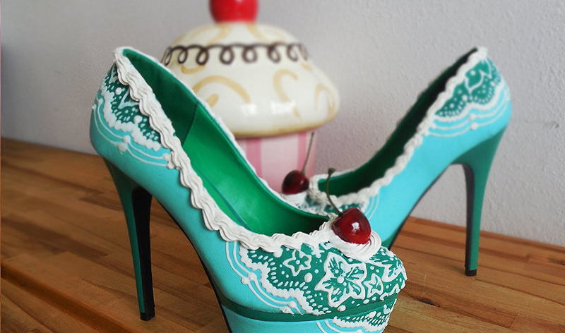 shoes cake(12)