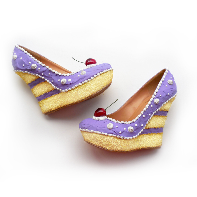 shoes cake(15)