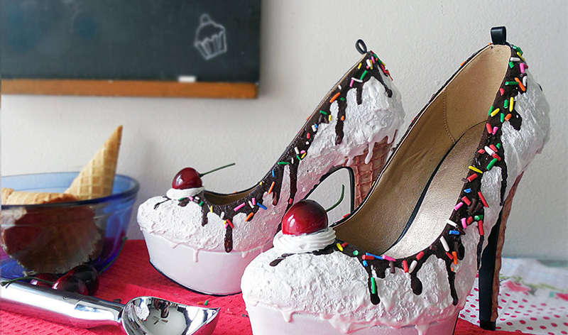 shoes cake(16)