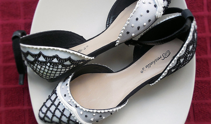 shoes cake(9)