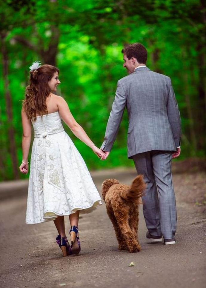 caine nunta in gradina (10)