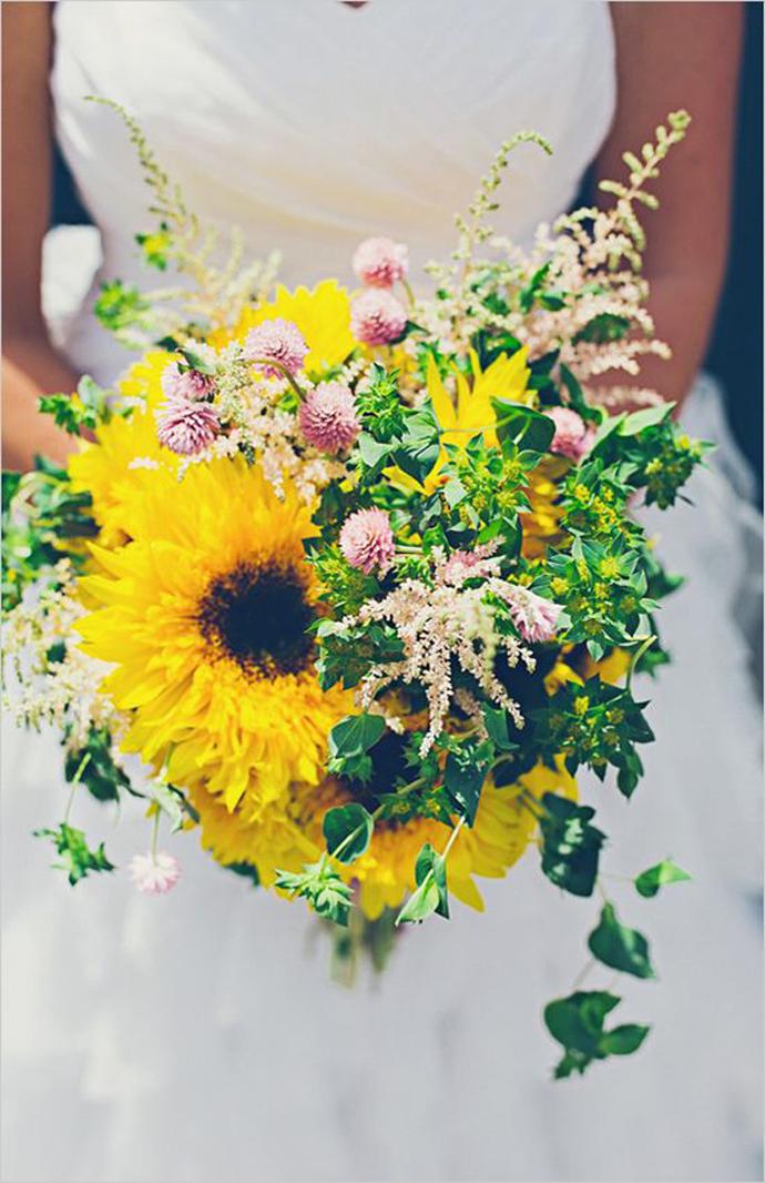 floarea soarelui-nunta in gradina (31)