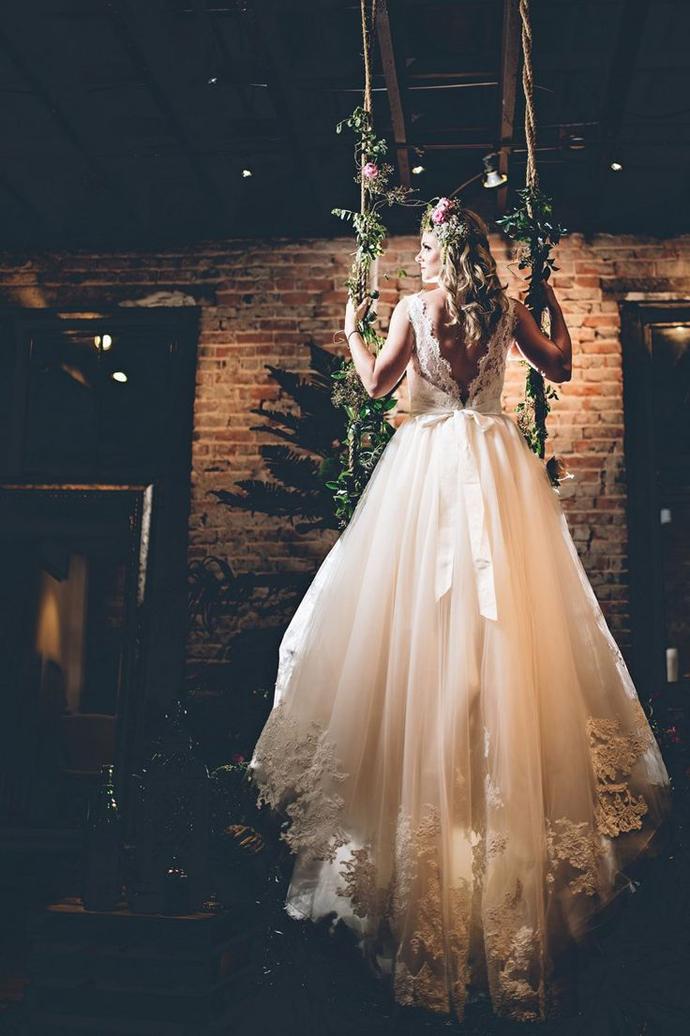 leagan -nunta  in gradina (2)