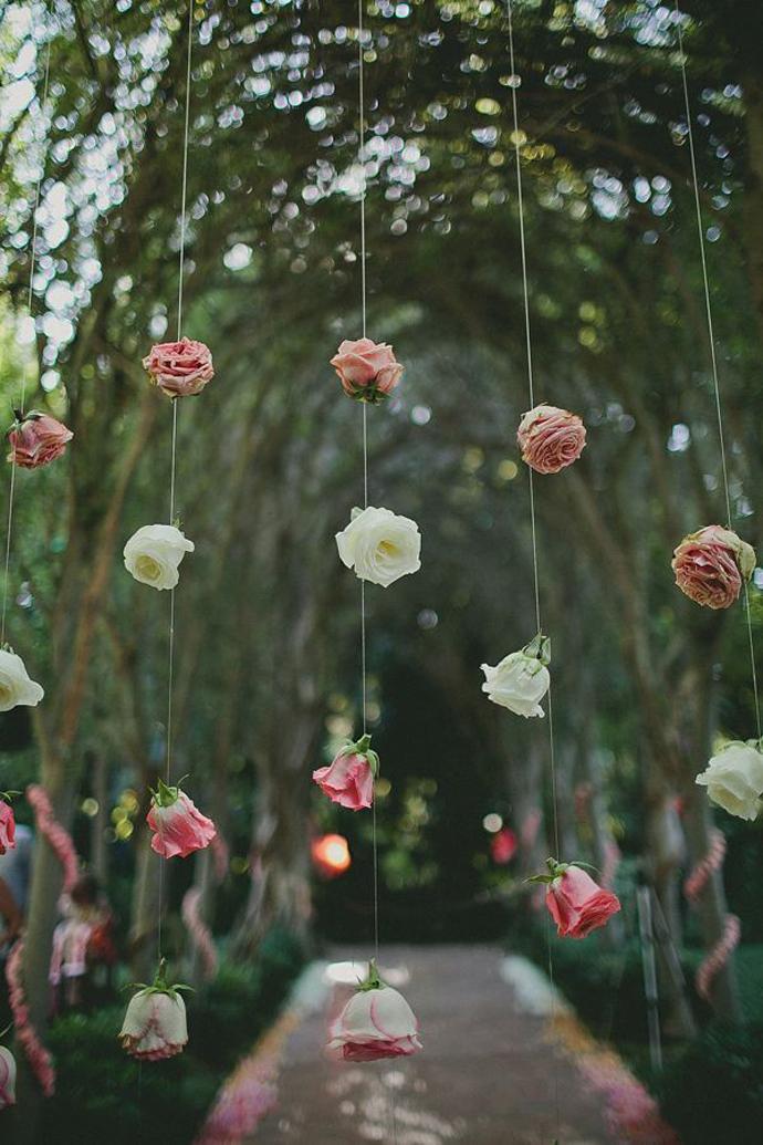 perdea de flori-nunta in gradina (12)