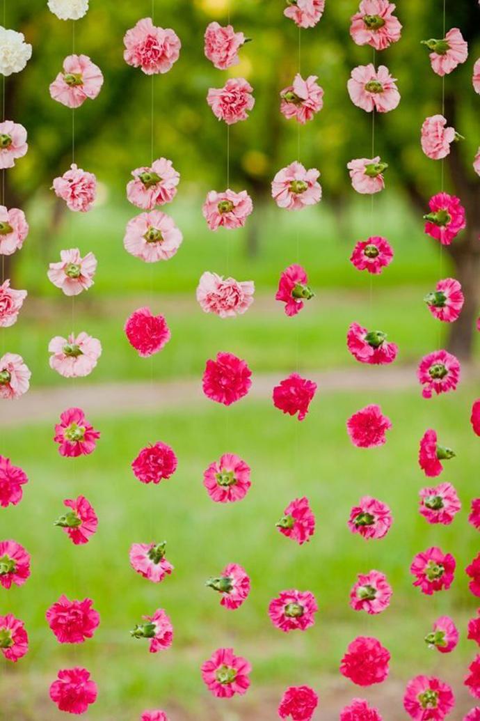 perdea de flori-nunta in gradina (2)