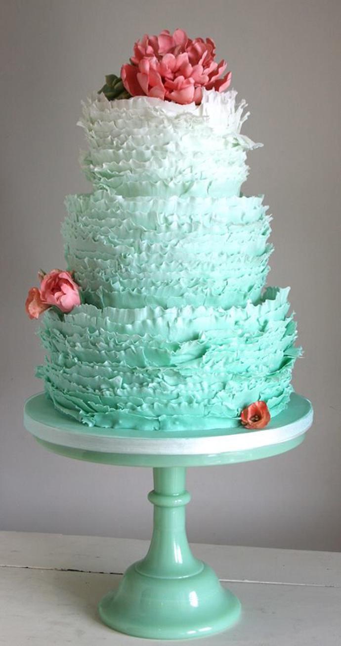 tort colorat cu flori (10)