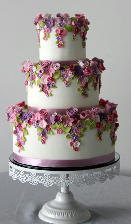 tort colorat cu flori (11)