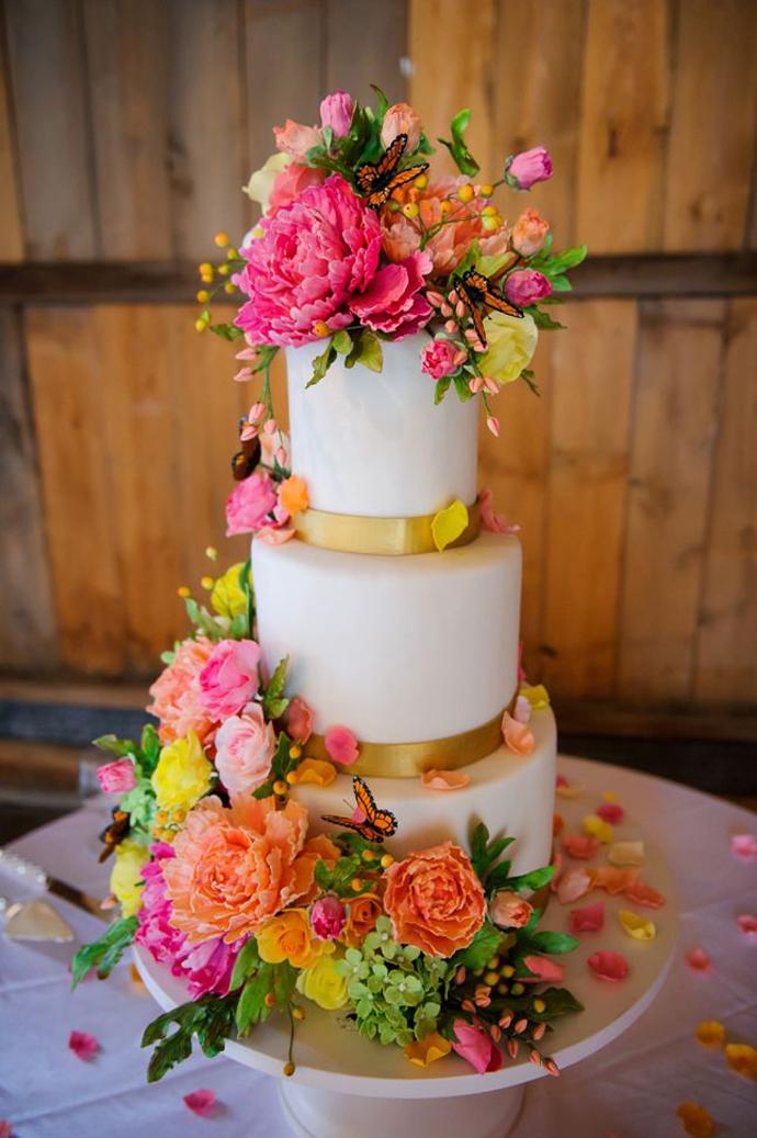 tort colorat cu flori (13)