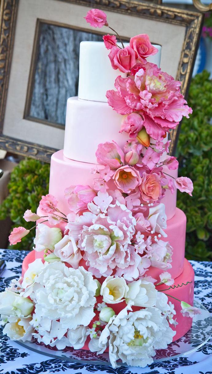 tort colorat cu flori (6)