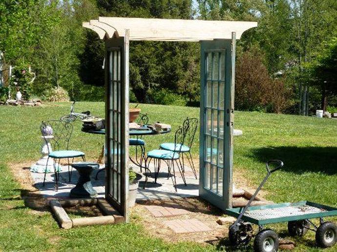 recycled doors- nunta in gradina (16)
