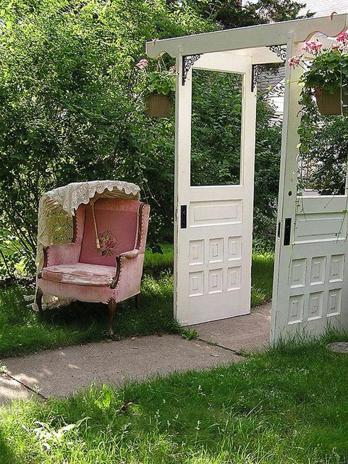 recycled doors- nunta in gradina (17)
