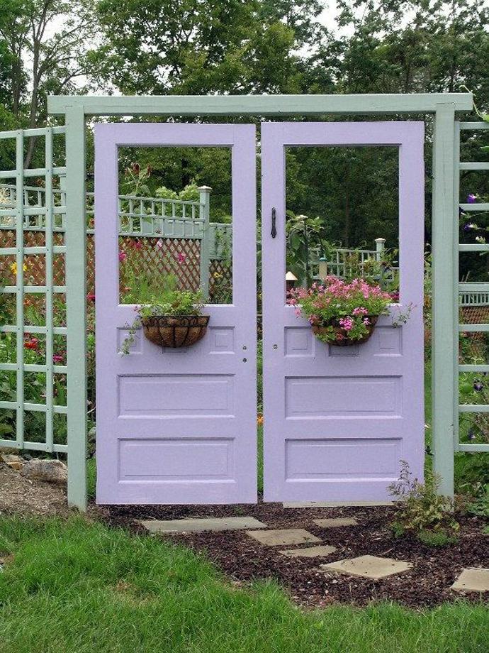 recycled doors- nunta in gradina (3)