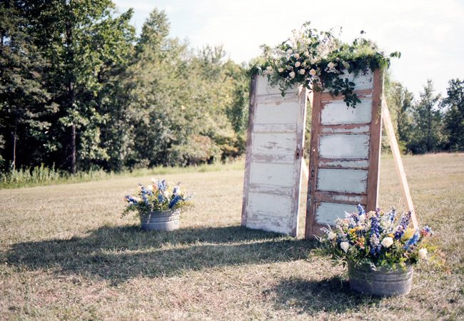 recycled doors- nunta in gradina (7)