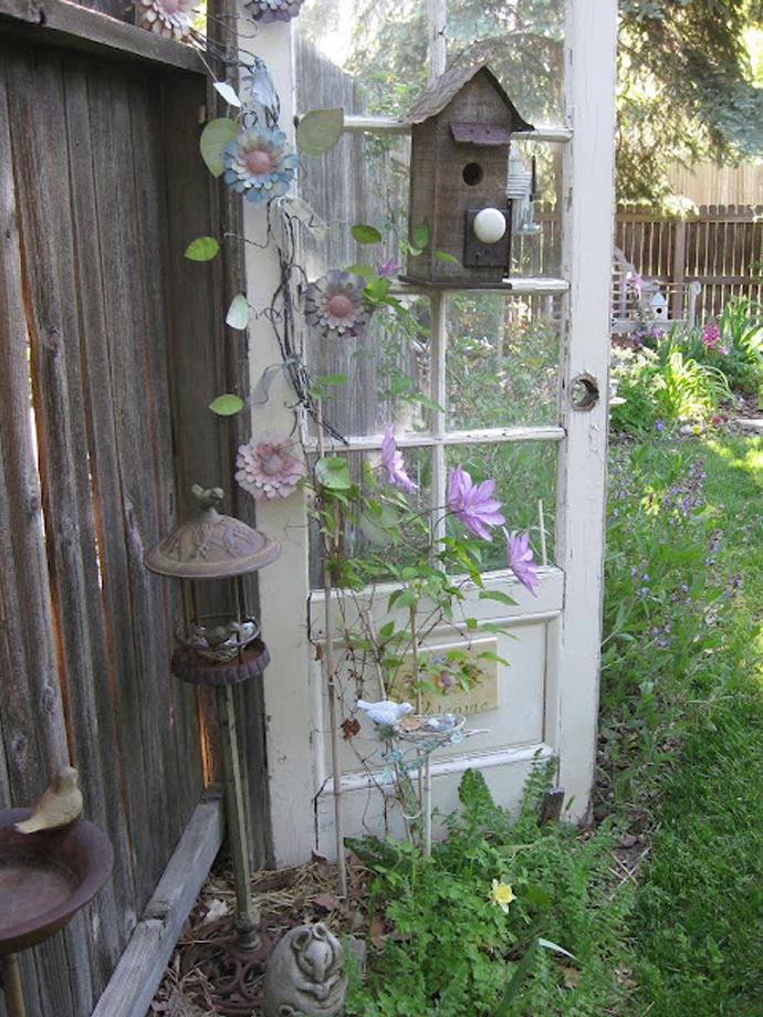 recycled doors- nunta in gradina (9)