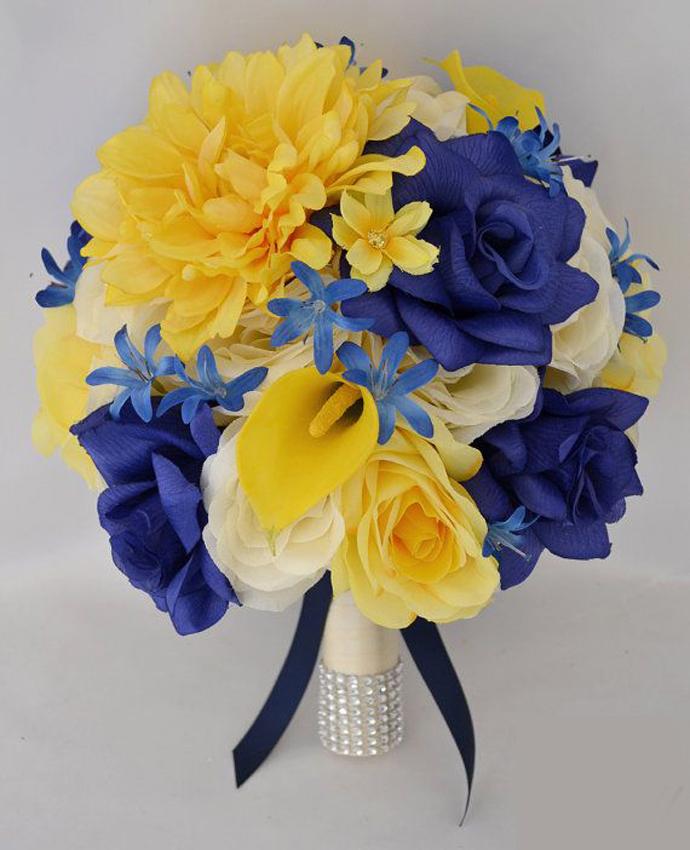 2 galben albastru nunta in gradina (5)