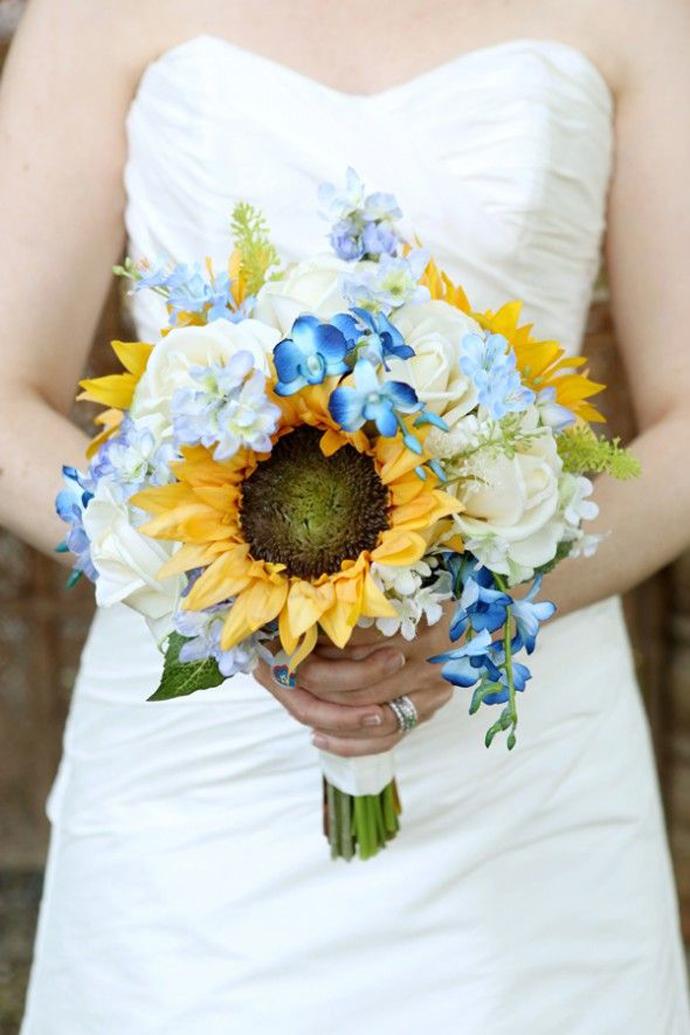 floarea soarelui-nunta in gradina (19)