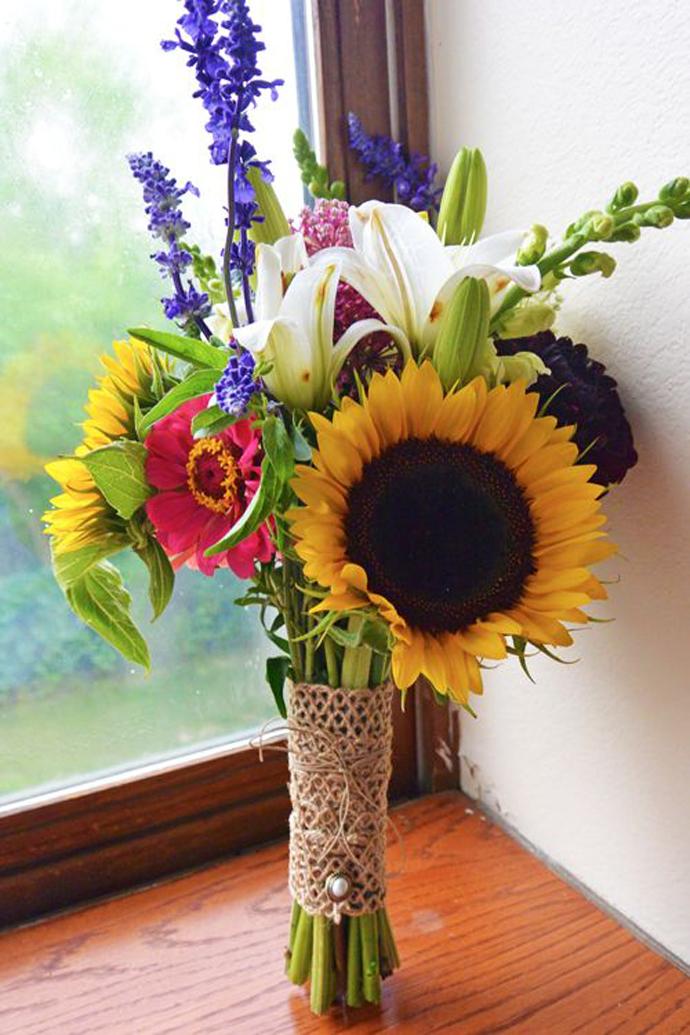 floarea soarelui-nunta in gradina (27)