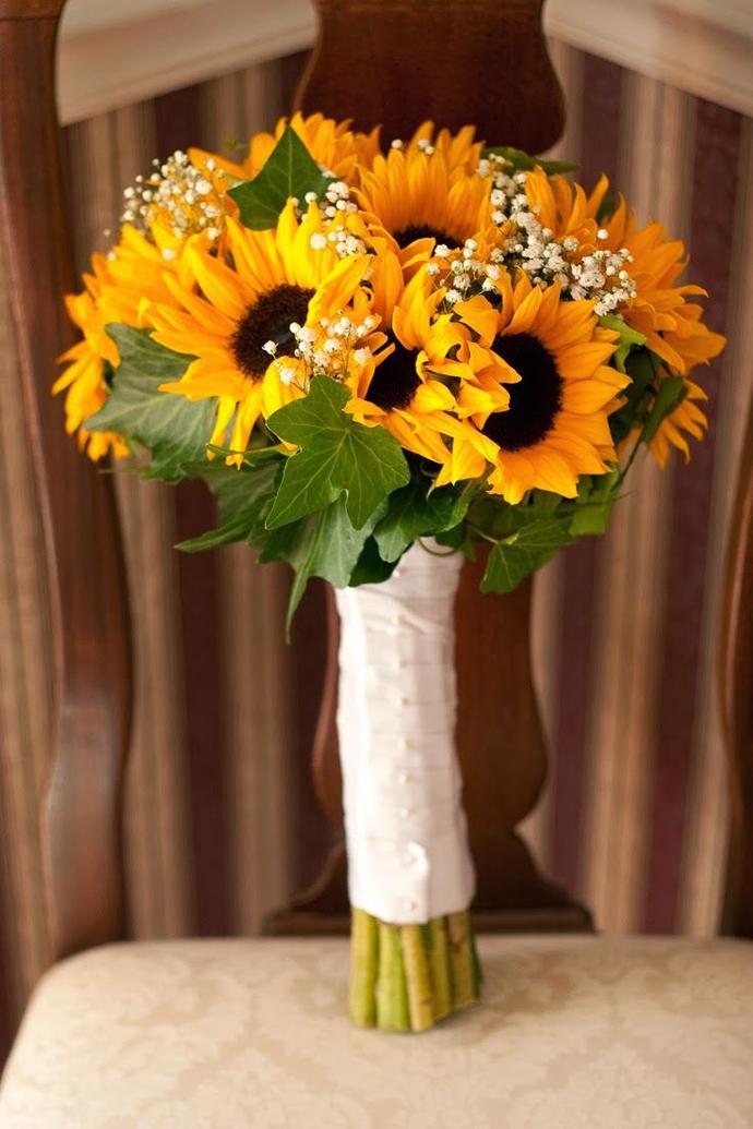 35 Decorațiuni De Nuntă Cu Floarea Soarelui Nuntă în Grădină