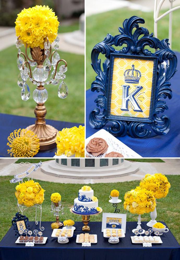 galben albastru nunta in gradina (15)