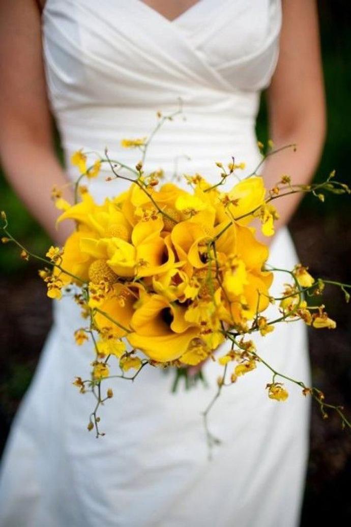 galben albastru nunta in gradina (19)