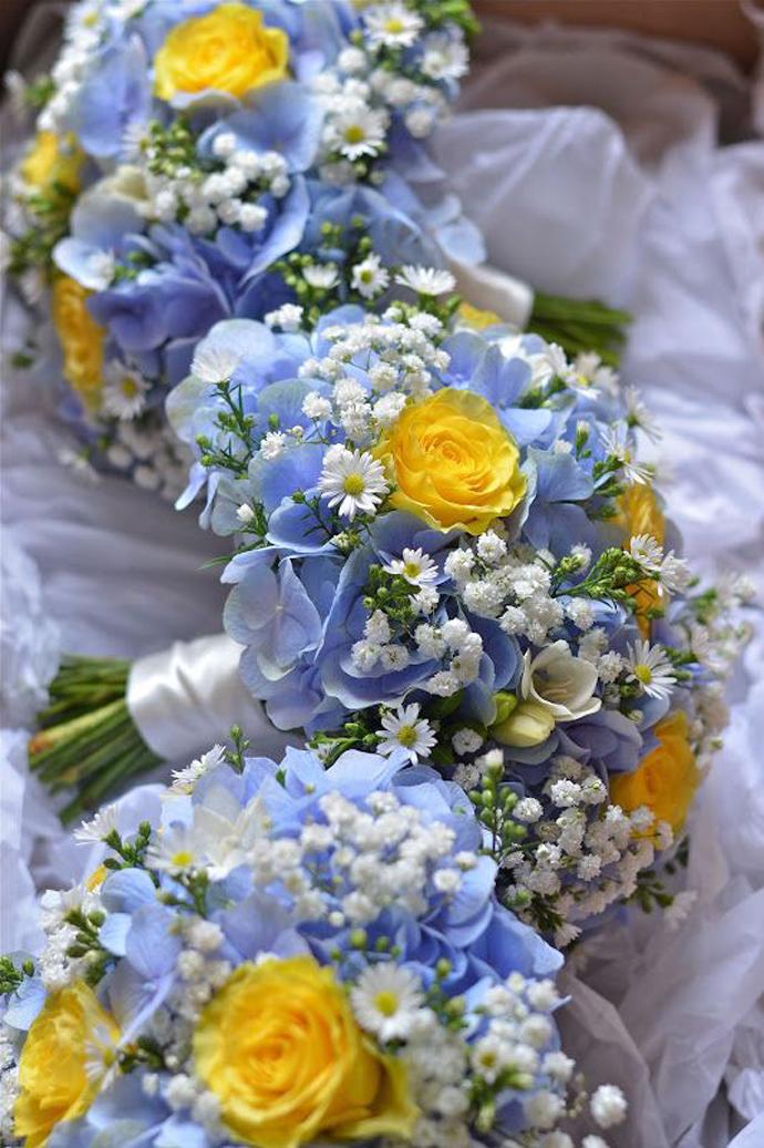 galben albastru nunta in gradina (25)