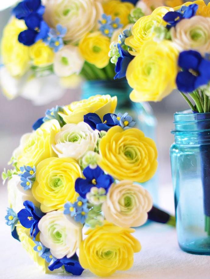 galben albastru nunta in gradina (27)