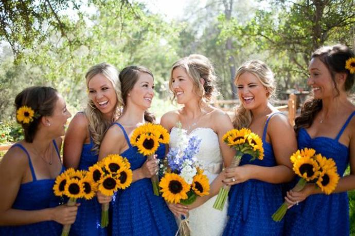 galben albastru nunta in gradina (30)