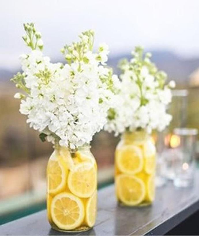 galben albastru nunta in gradina (4)
