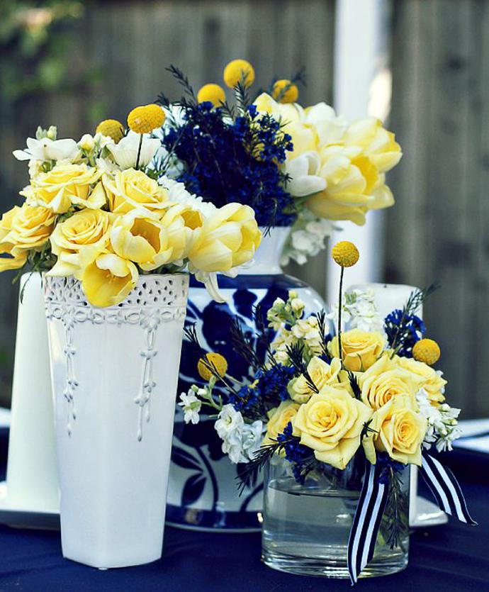 galben albastru nunta in gradina (8)