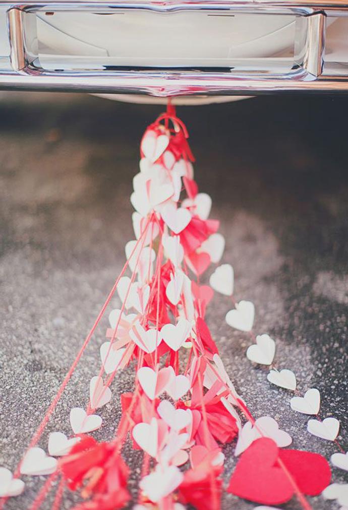 inimi de hartie-nunta in gradina (1)