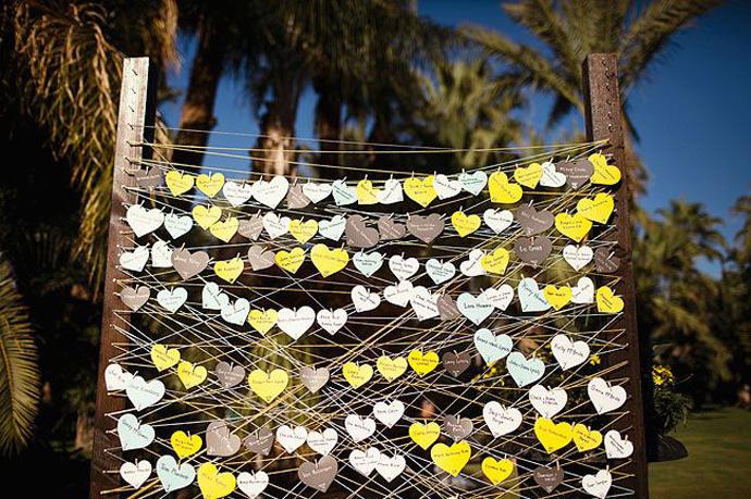 inimi de hartie-nunta in gradina (14)
