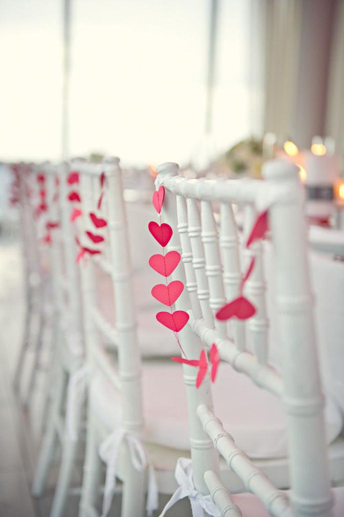 inimi de hartie-nunta in gradina (17)