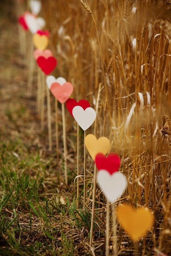 inimi de hartie-nunta in gradina (18)