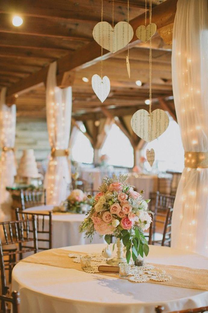 inimi de hartie-nunta in gradina (2)