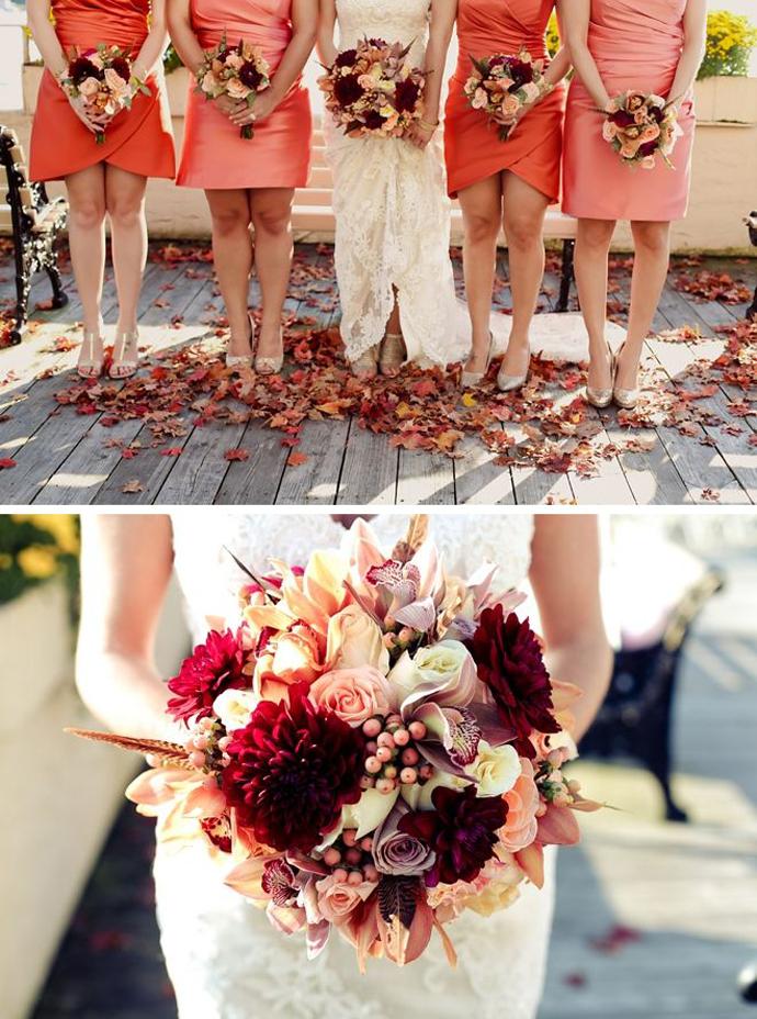 buchet flori rosii-nunta in gradina (1)