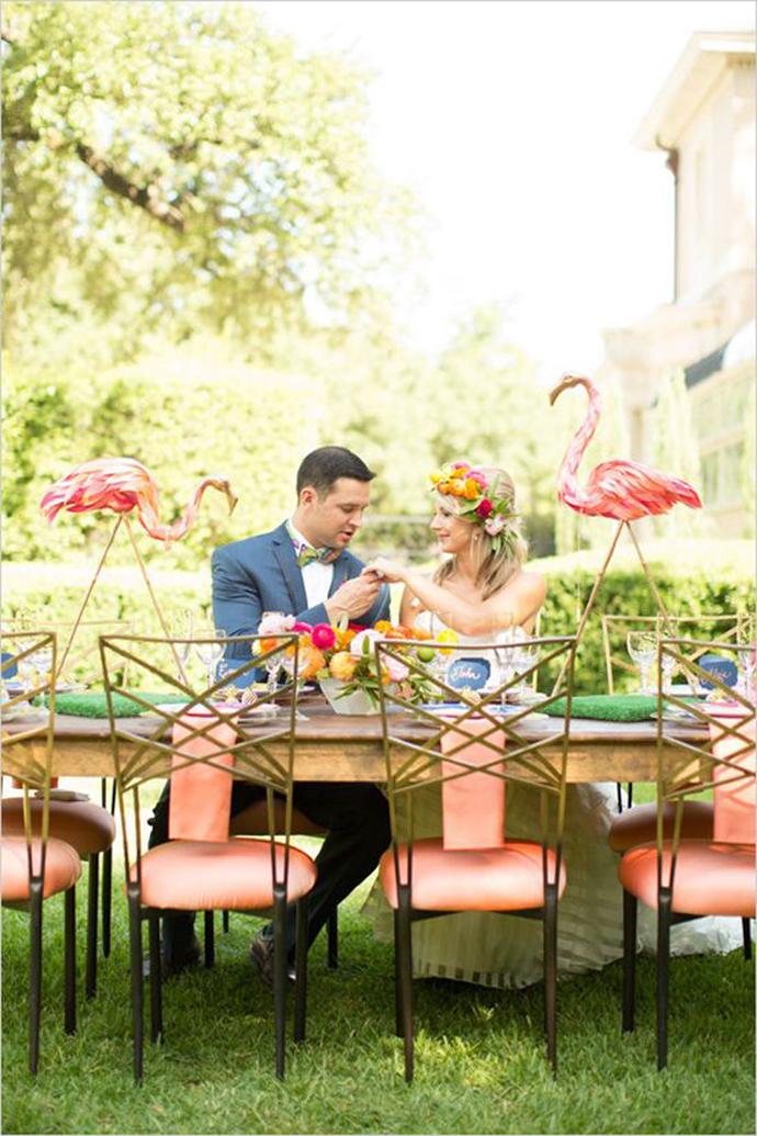 flamingo-nunta in gradina (11)