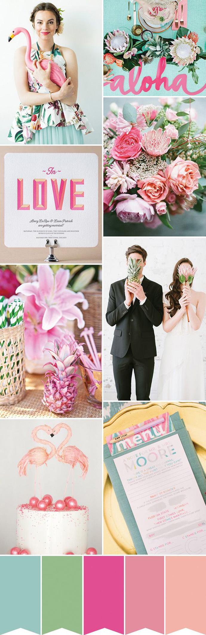 flamingo-nunta in gradina (13)
