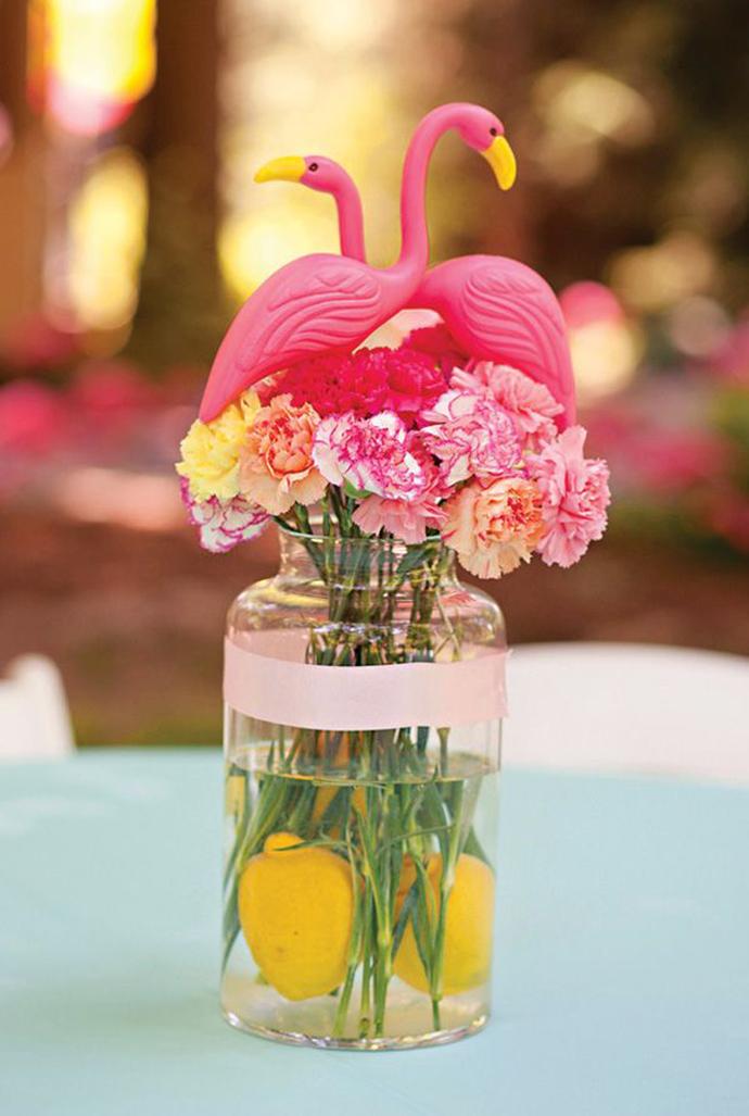 flamingo-nunta in gradina (3)