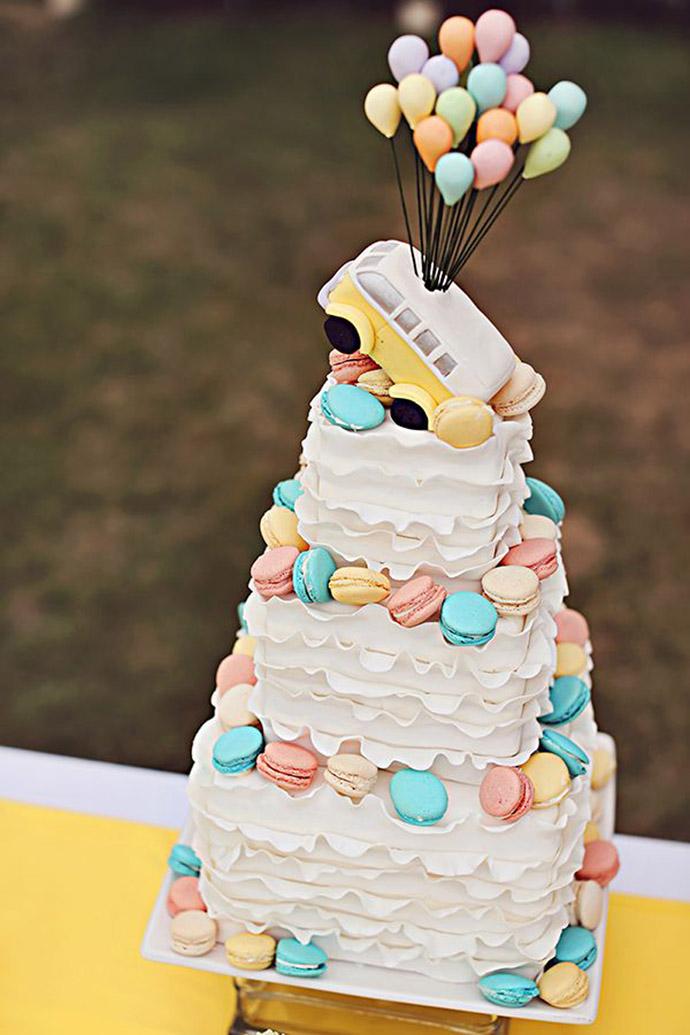 nunta in gradina cu macarons (10)