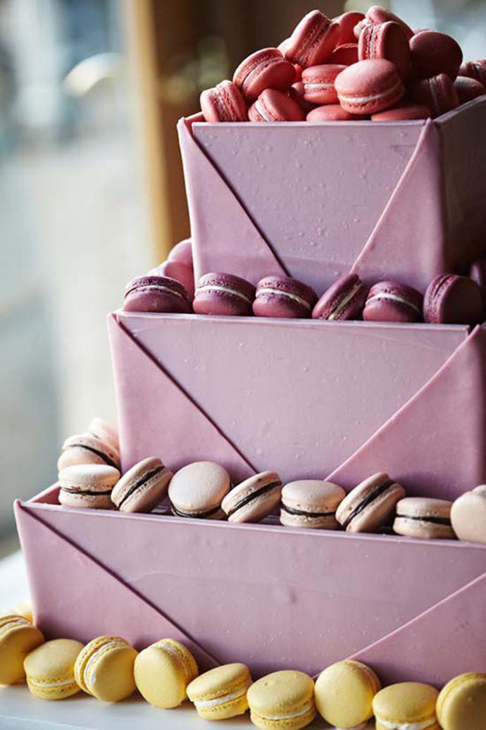 nunta in gradina cu macarons (13)