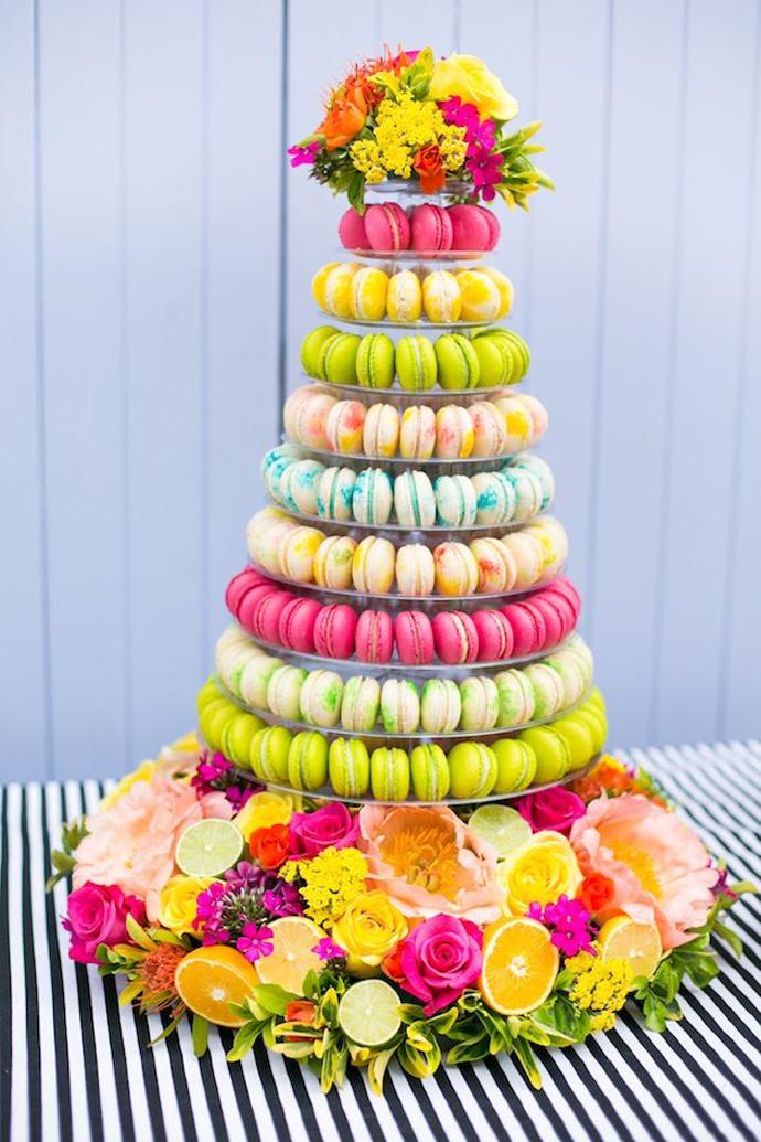 nunta in gradina cu macarons (28)