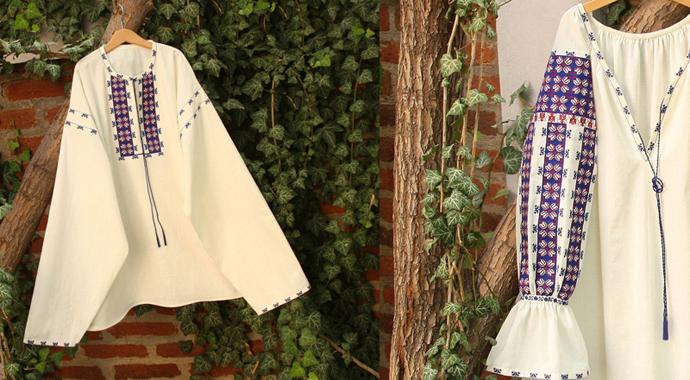 Ia romaneasca-nunta in gradina (11)