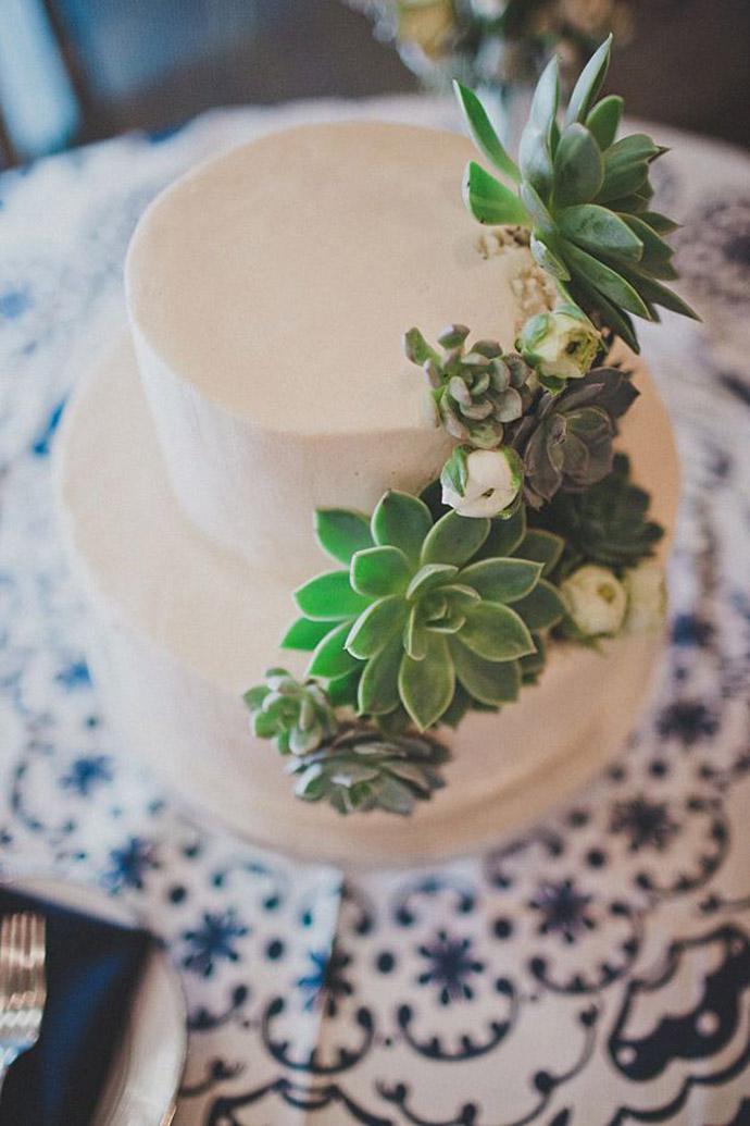 tort plante suculente-nunta in gradina (1)