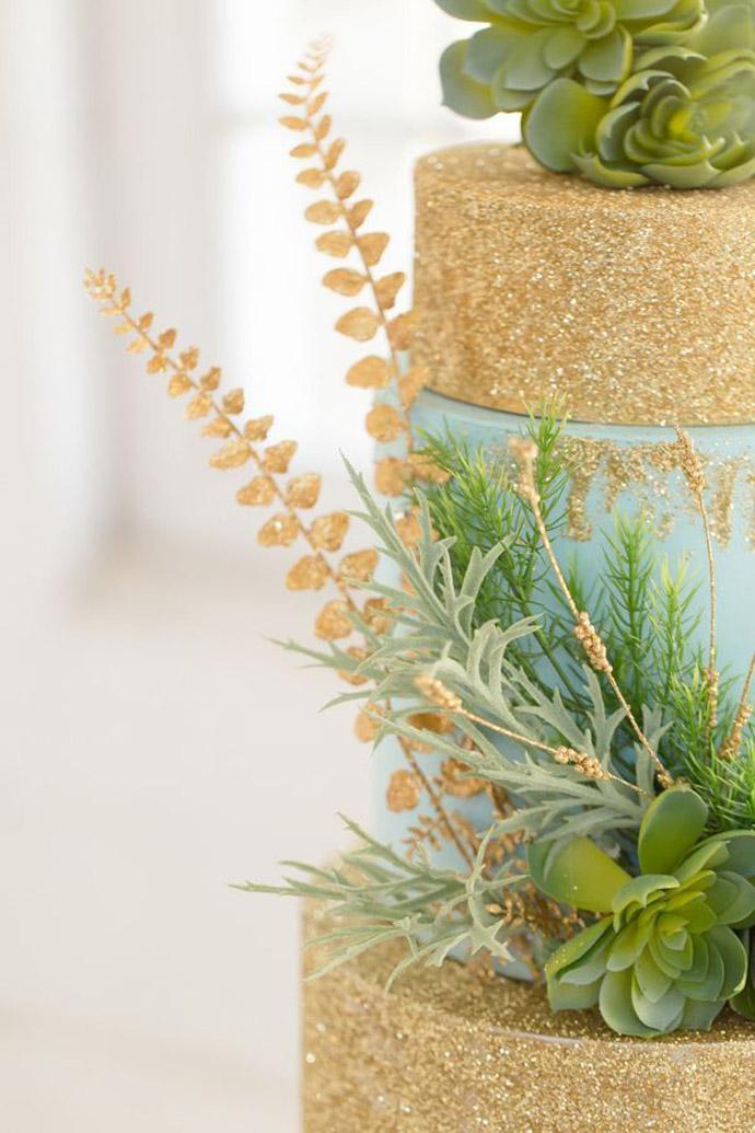 tort plante suculente-nunta in gradina (13)
