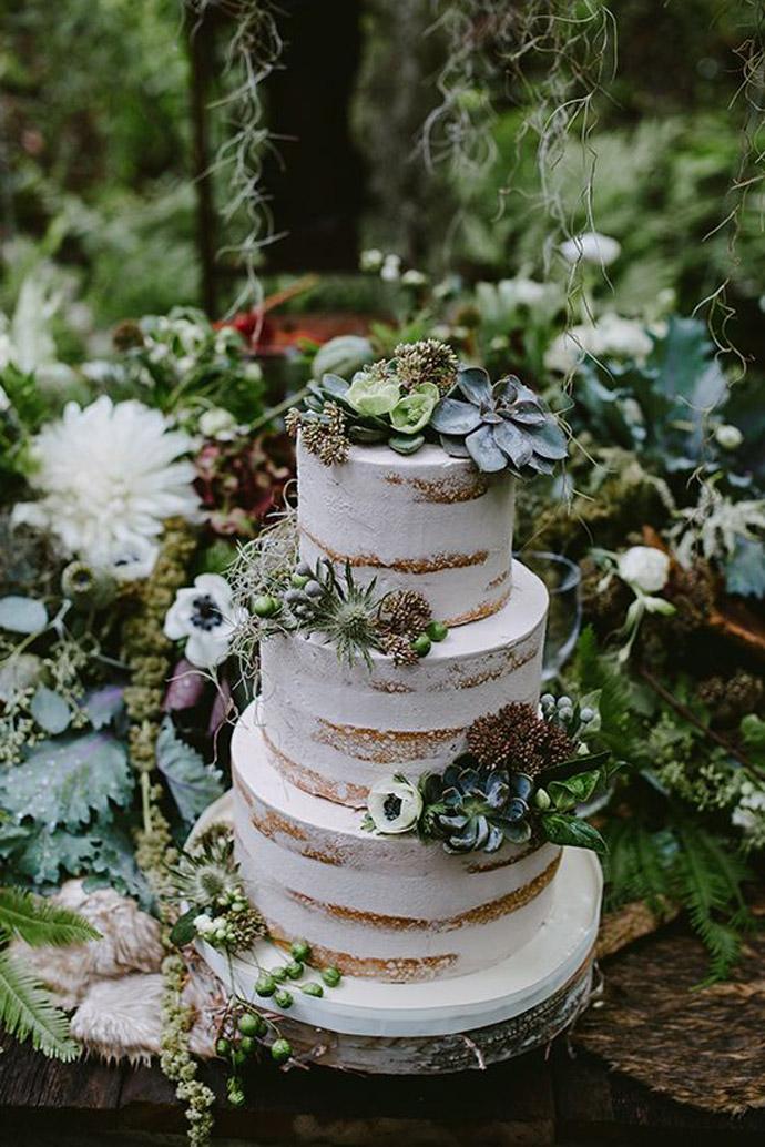 tort plante suculente-nunta in gradina (9)