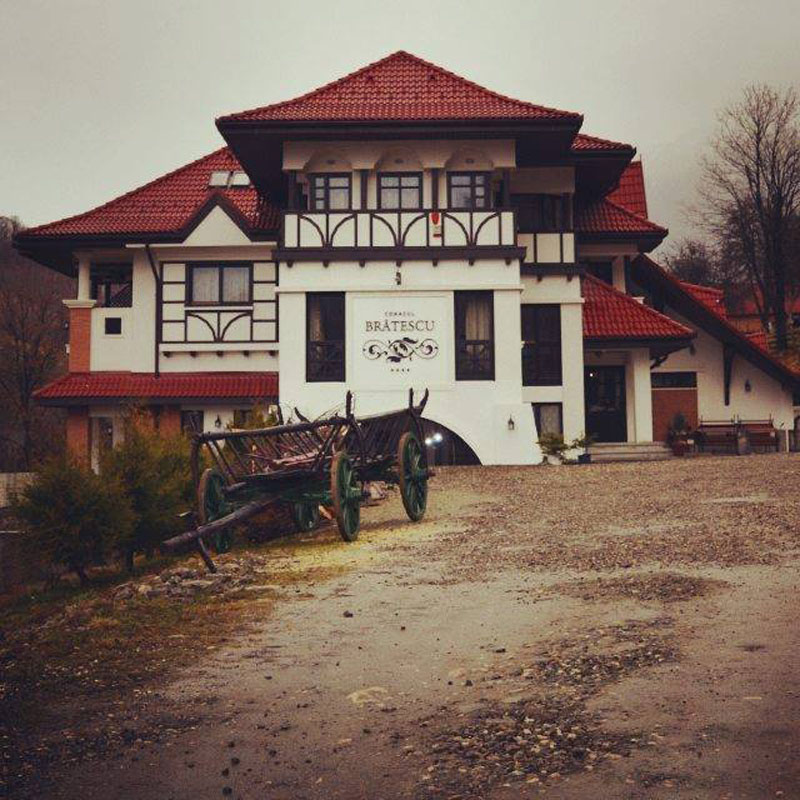 Conacul Brătescu-nunta in gradina (1)