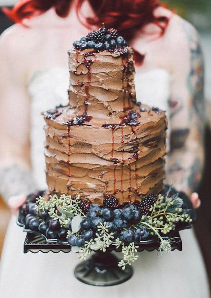 ciocolata nunta in gradina (2)
