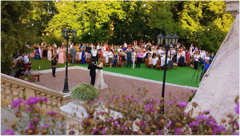 conacul Polizu-nunta in gradina (7)