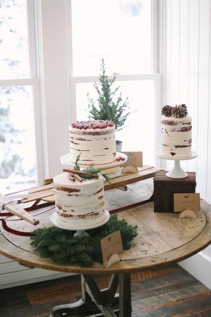 tort iarna nunta in gradina (2)